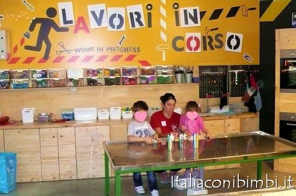 Roma con i bambini Explora laboratorio