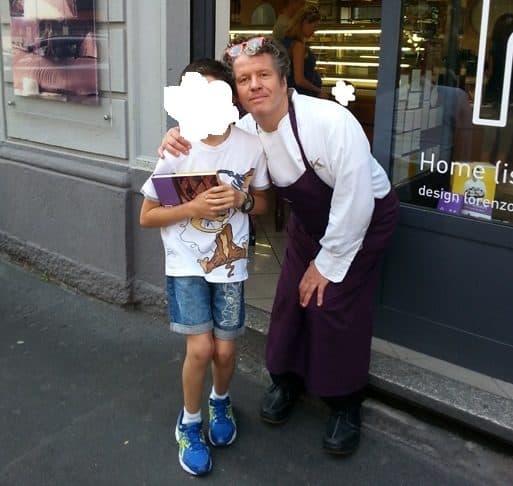 Dove mangiare a Milano con bambini: pasticceria l'Antica di Ernst Knam
