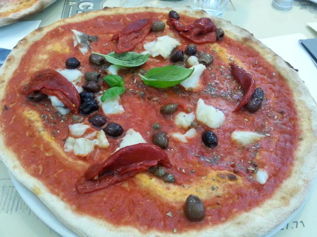 Dove mangiare a Milano con bambini: Pizzeria Fabbrica