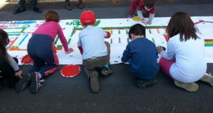 Laboratorio per bambini a Cinecittà a Roma