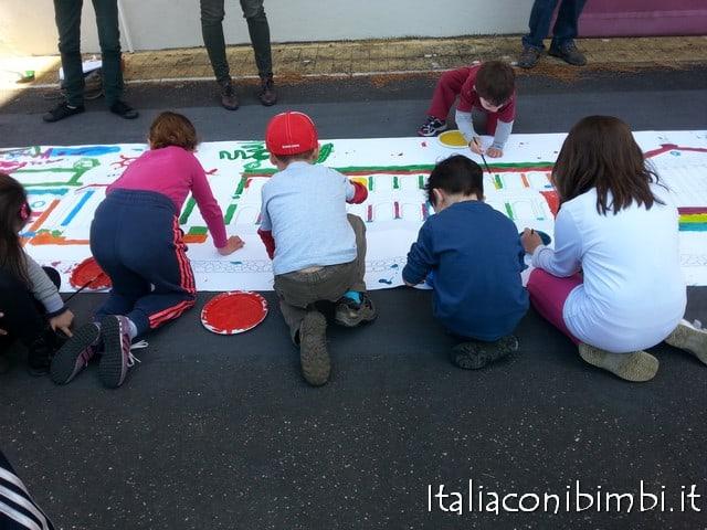 Laboratorio a Cinecittà con bambini a Roma