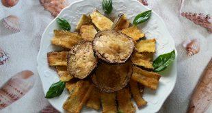 zucchine e melanzane croccanti al forno senza uova e senza farina