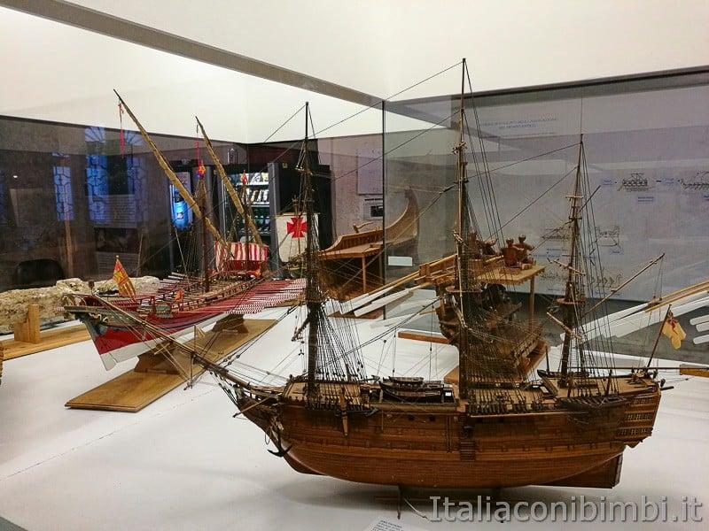 Trieste - museo del mare - modellini