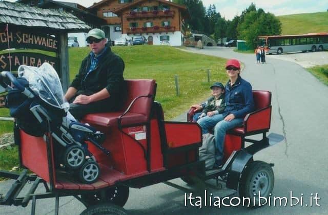 Alpe di Siusi con bambini: tutti in