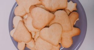 biscotti di pasta frolla cotti