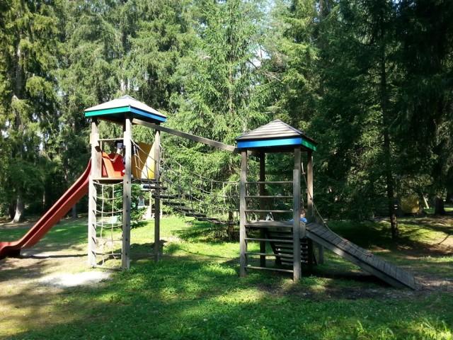 parco giochi Grieswaldile in Val Pusteria con i bambini