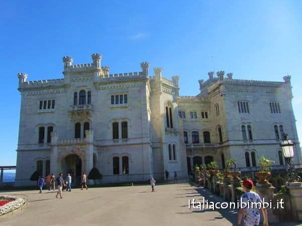Trieste con bambini Castello di Miramare