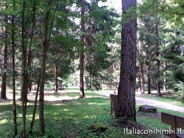 parco giochi Grieswaldile a Dobbiaco