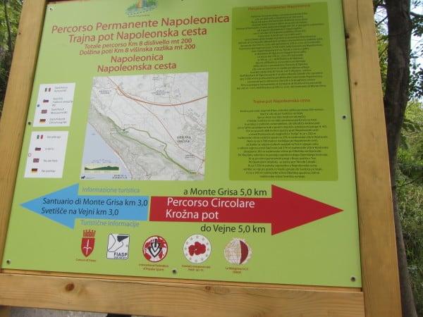 passeggiata napoleonica a Trieste con i bambini