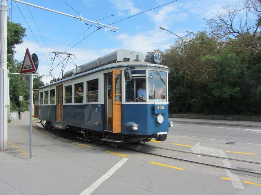 Tram di Opicina Trieste con i bambini