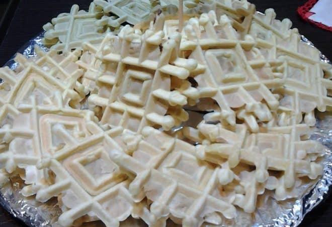 pizzelle o neole abruzzei