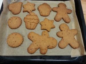 biscotti con lo zucchero mascobado