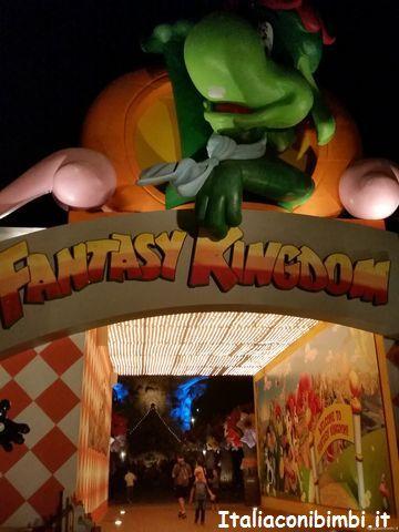 Gardaland ingresso a Fantasy Kingdom