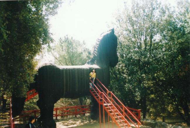 cavallo di troia alla città della Domenica di Perugia