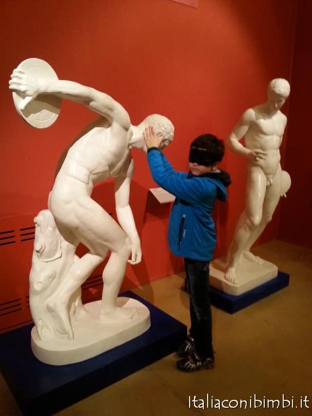 visita bendata al Museo Omero di Ancona