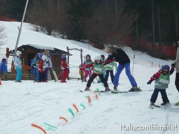 Lezioni di sci ad Andalo