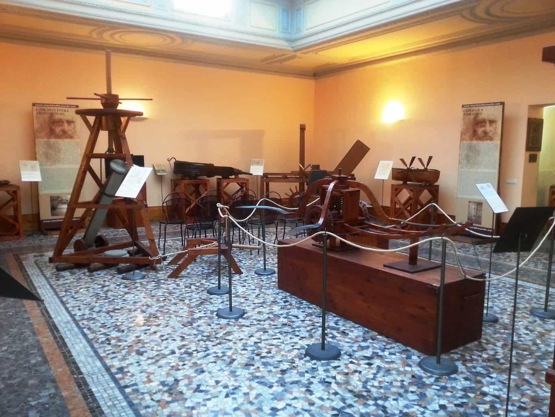 Firenze con bambini: museo di Leonardo Da Vinci