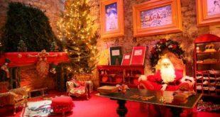 Casa di Babbo Natale a Montecatini