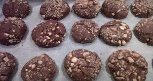 biscotti di farro al cioccolato