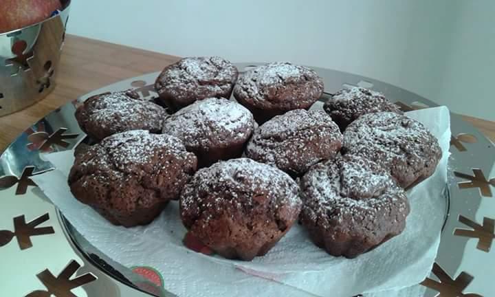 Muffin alla nutella ricetta