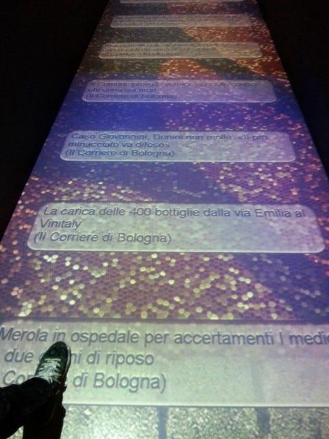 Bologna con bambini museo della storia passaggio multimediale