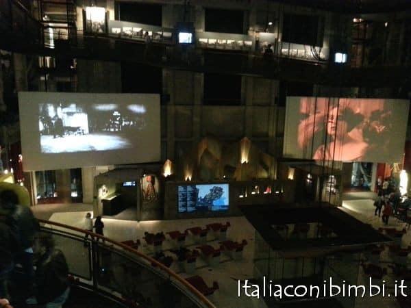 Torino con bambini: museo del cinema sala grande
