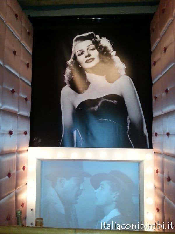 Torino con bambini: museo del cinema primo piano