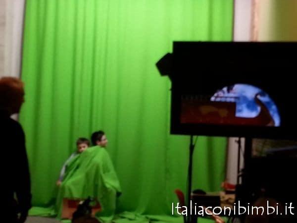 Laboratori a Torino con bambini, museo del cinema