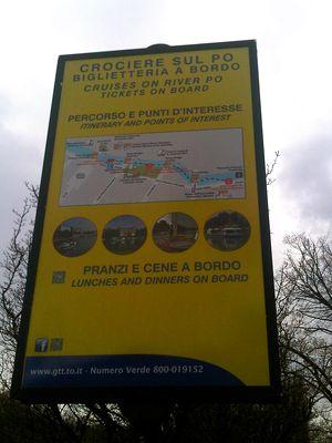 cosa fare a Torino con i bimbi: una gita sul Po