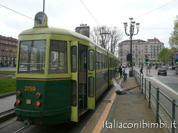 cosa fare a Torino con bambini: tram storico numero 7