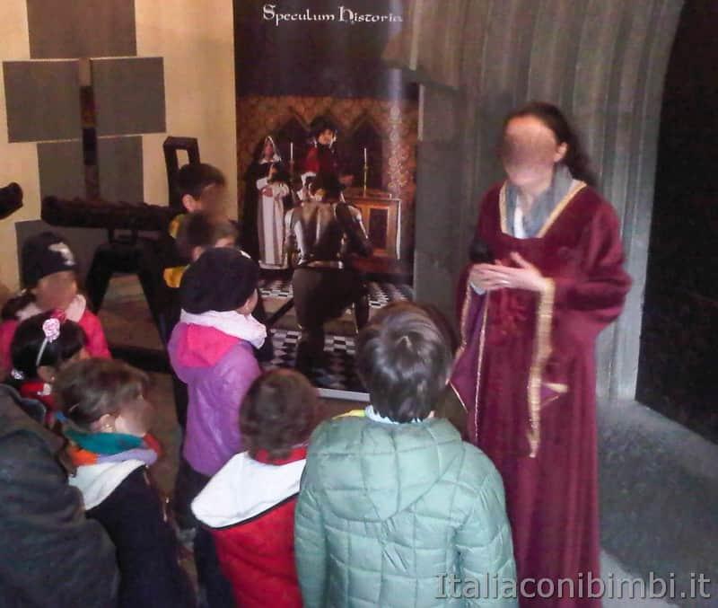 Torino - borgo medievale visita guidata per bambini