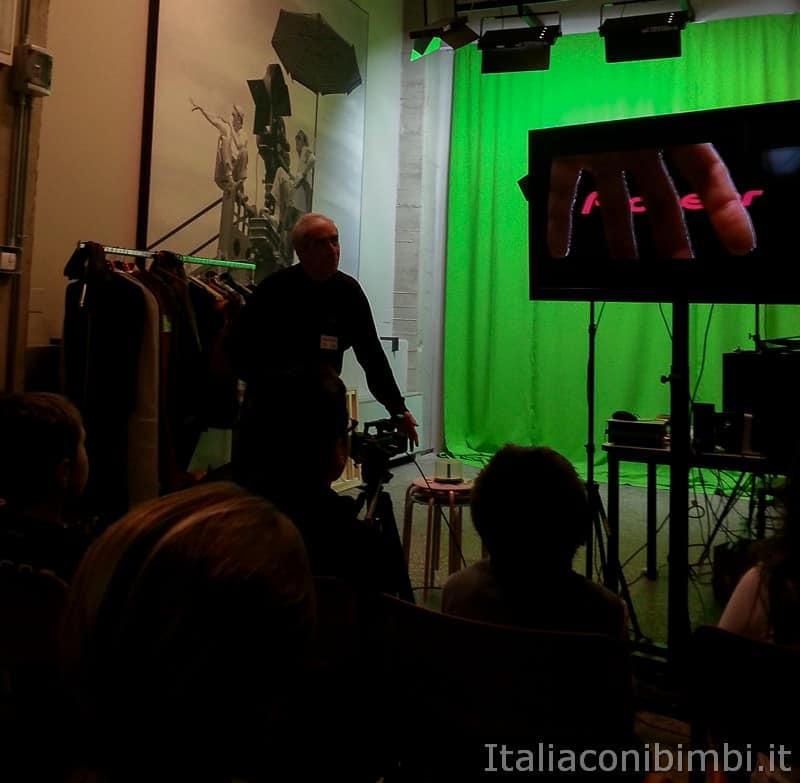 Torino - laboratorio al museo del Cinema