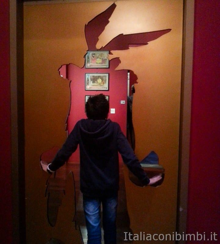 Torino - museo del cinema area cartoni animati