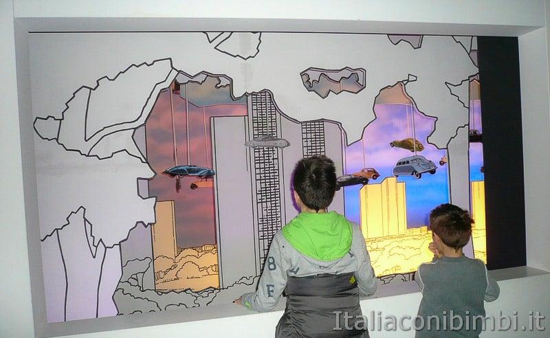 Torino - museo dell'automobile - bambini