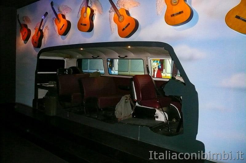 Torino - museo dell'automobile - furgone