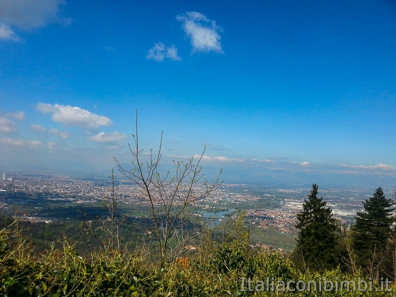 Torino - panorama da Superga