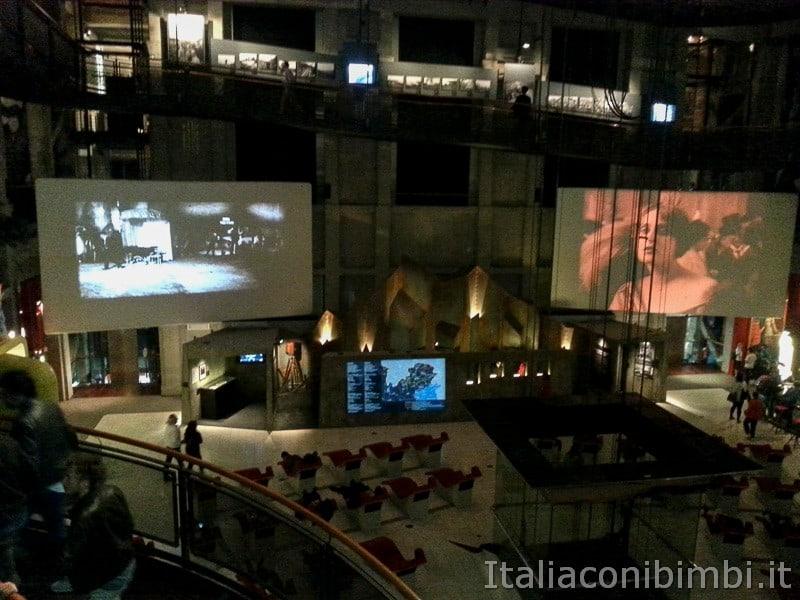 Torino - schermi aula del Tempio