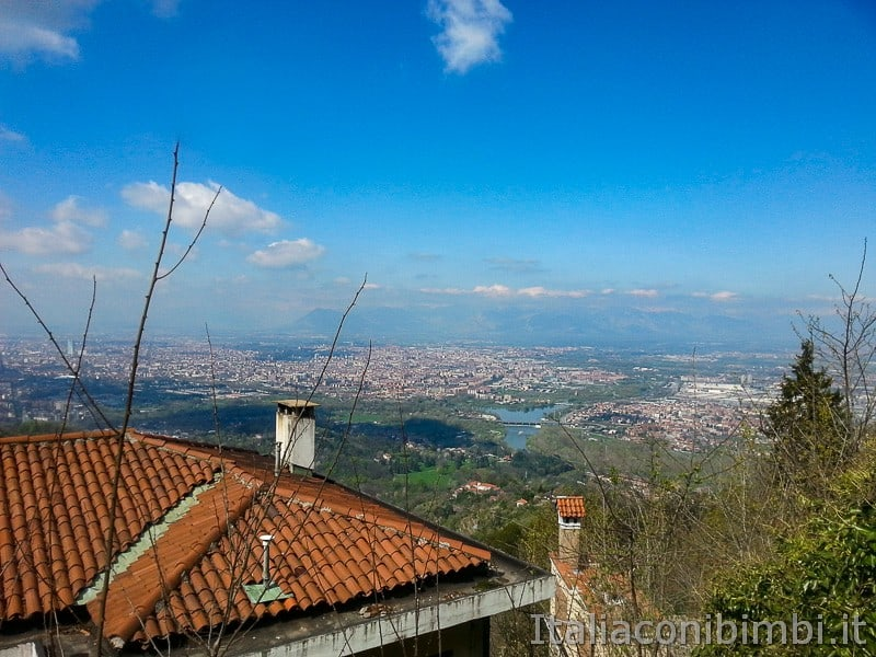 Torino - Colle Superga panorama