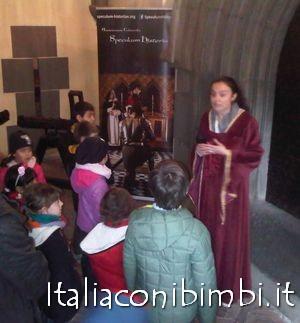 attività per bambini al borgo medievale a Torino