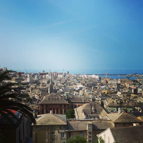 Genova - Spianata del Castelletto