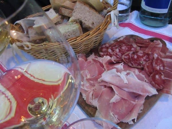 Cena al Tabarro a Parma