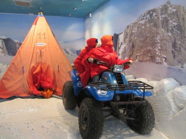 Cosa fare con i bambini a Genova: museo dell'Antartide