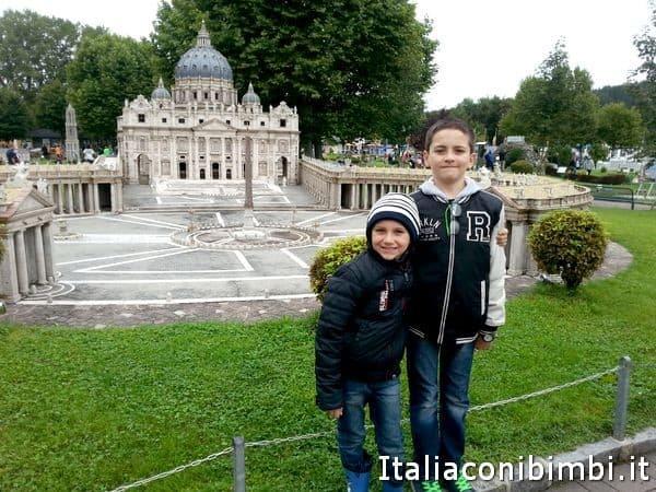 Minimundus a Klagenfurt con bambini