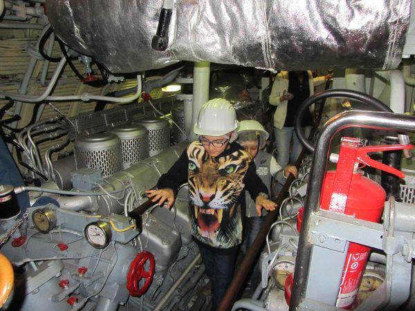 Genova con bambini: sottomarino del muose del mare
