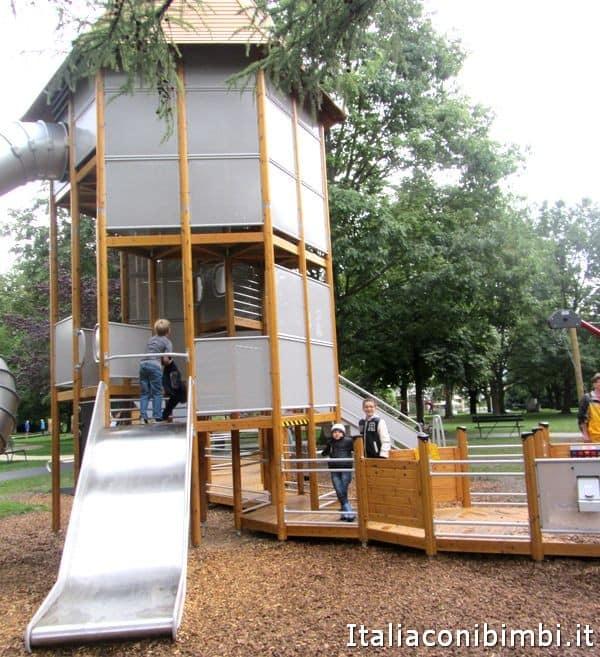 scivoli all'Europapark di Klagenfurt
