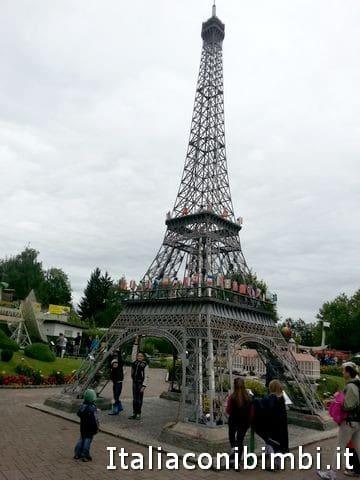 torre Eiffel a MInimundus di Klagenfurt