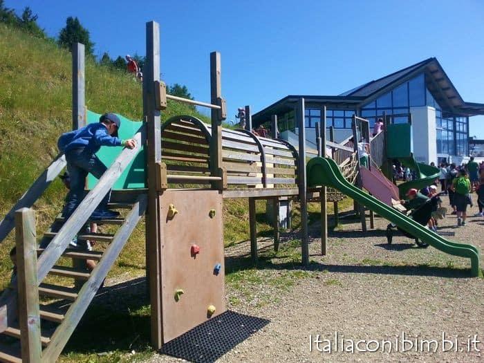 Val Gardena con Bambini: giochi Alpe di Siusi