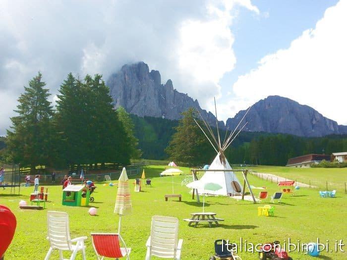 Val Gardena con bambini: Monte Pana