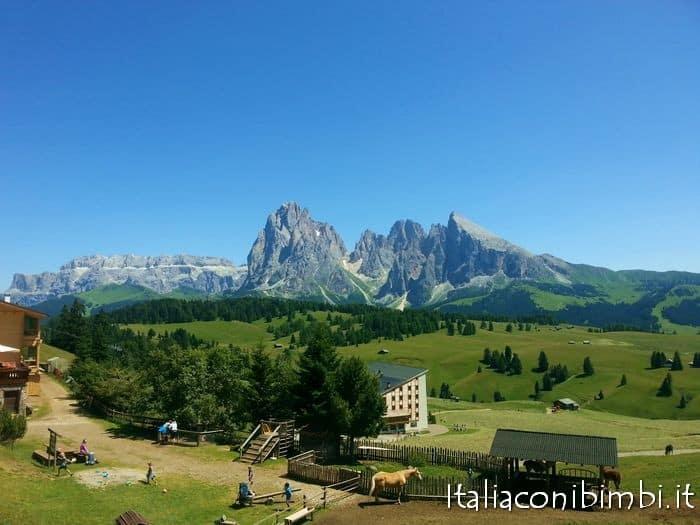 Val Gardena con Bambini: Alpe di Siusi