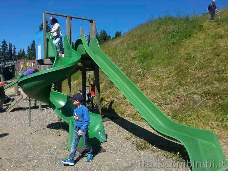 Alpe di Siusi - parco giochi